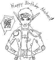 Happy Birthday from Jak by Dragongirl19282