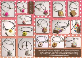Cutie Necklace Fun by tedsie
