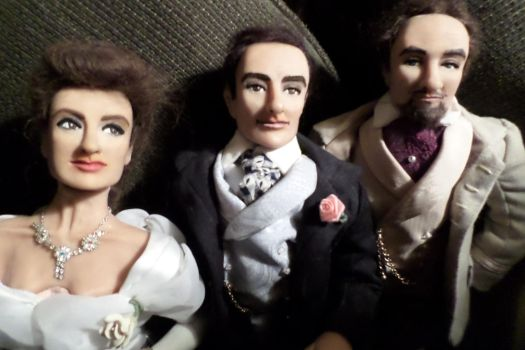 Group Shot #3 of Dorian Gray character dolls by R-Marie