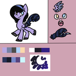 DTA : MLP : Midnight Hue by ThePotato-Queen