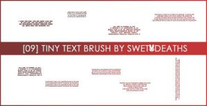 09 Tiny text brushes by swetdeaths