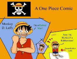 One Piece, Rubber-Rubber by serena-inverse