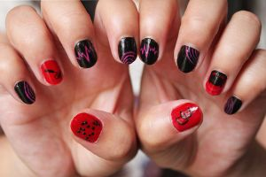 Daredevil Nails by xcalixax