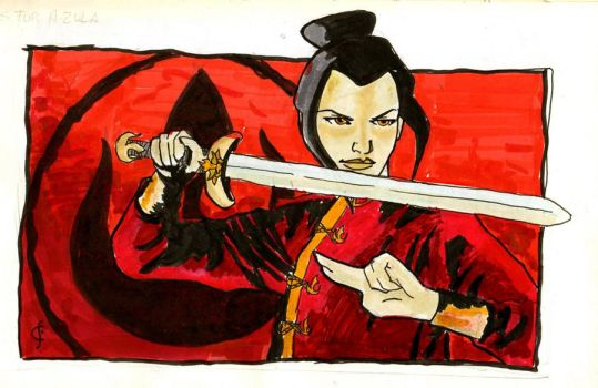A is for Azula by crisurdiales