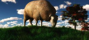 Grazing by fractal2cry