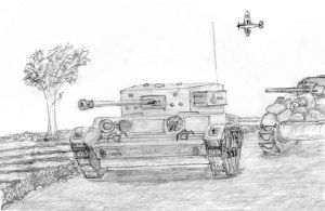 Armoured Advance by The-Pillbox