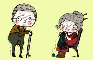 grandparents by flayravenz