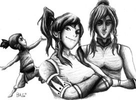The Cycle: Korra by XTaeKwonDoDoX