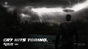 CR7 HITS TORINO ft. Boeing Visual Arts by SanchezGraphic