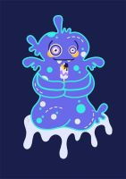 Gejellymo, The Jelly Monster! by Yanialch