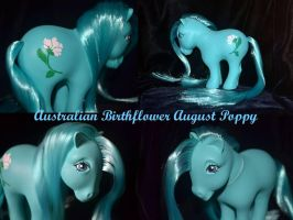 Birthflower August Poppy australiano by Soulren