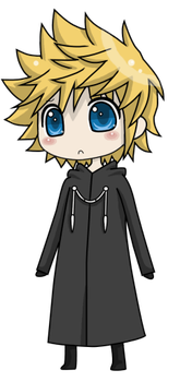 Roxas by Iceling