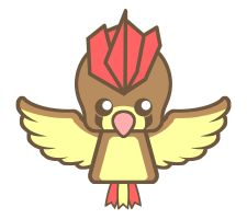 NeoChibi Pidgeotto by DrSketch24