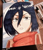 Mikasa :gift: by Blue-Chica