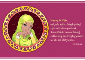 Hijab is a Way of Life by ainosora