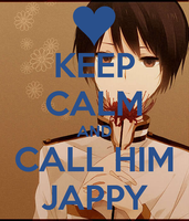 Keep Calm and Call him Jappy by LittleFlower23