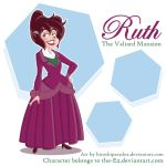 Ruth for The-Ez by hiroshiparadox