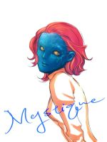X Men First Class Mystique by historyemily