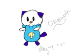 Oshawott (Pokemon 40 Day Challenge) by PsychoticPanda101