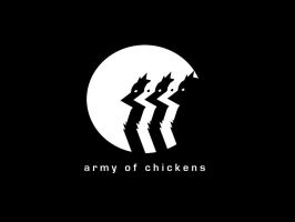 Army of Chickens film logo by armyofdeathchickens