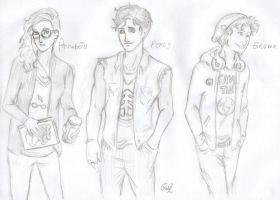 PJO in a Hipster version by odairwho