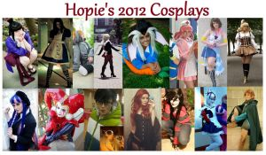 2012 Cosplays by Hopie-chan