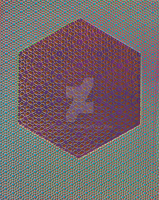 HyperCube Blue Purple Red by atomicdave