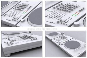 Turntables and Mixer by tguy