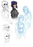 mass effect dewdles by leahmsmith