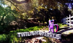 Twilight Sparkle Nature Wallpaper by InternationalTCK