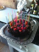 My first cake by 95JEH