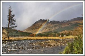 Rainbow over the Glen by Ballisticvole