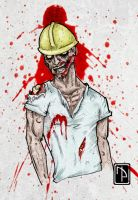 Zombie Miner by xphyrox