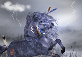 'Iroquois Thunder' by sylki51