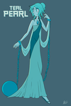 Teal Pearl - Gemsona? by Cold-Creature