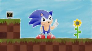 Classic Green Hill Zone by VideoGameLover15