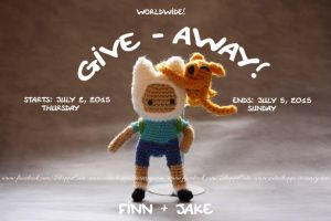 Finn Amigurumi Give Away by Cyntendo