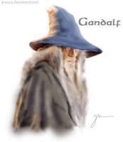 Gandalf by jusza