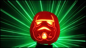 Pumpkin Laser Trooper by SWAT-Strachan