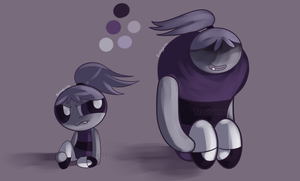 Purple Bunnies by Brashgirl901