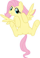 Fluttershy is the most cutiest pony by transparentpony