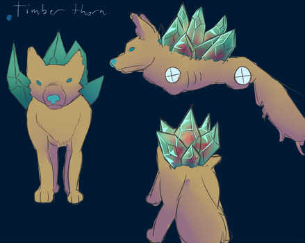 DAC Timber Thorn Canine by EmeraldEpoch