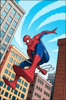 spidey swinging 2 by stevesafir
