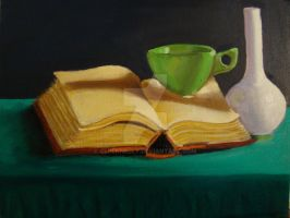 Still Life painting 1 by CLPennelly