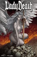 Lady Death: Echoes #1 Angel Edition by Ric1975