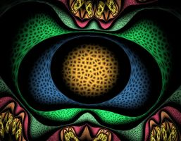 Crackle Eye by obeyyourmaster