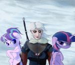 One Ciri, Two Pone by AaronMk