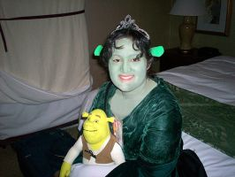 Me As Princess Fiona by guardian-of-moon