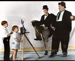 Laurel and Hardy 6 by ajax1946