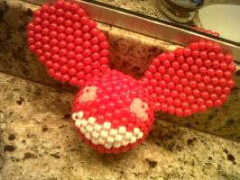 finished deadmau5 kandi :3 by aznmushi019